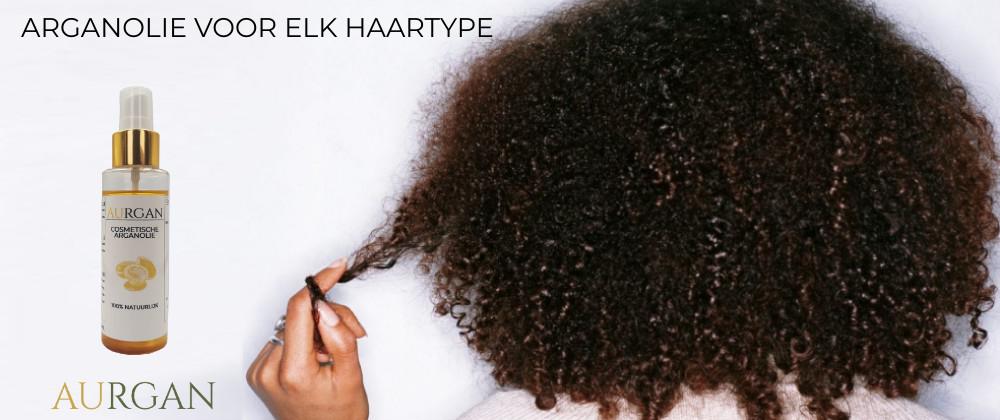 Arganolie hair care